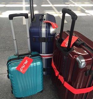 スーツケースJALパック