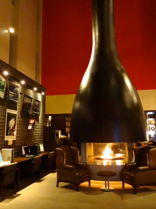 ブエナビスタ暖炉