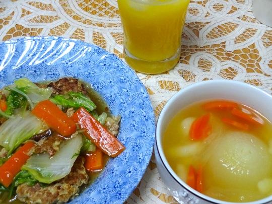 新玉葱スープ