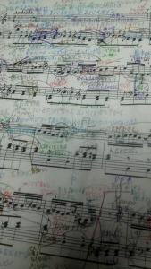 バッハイタリア協奏曲2楽章楽譜