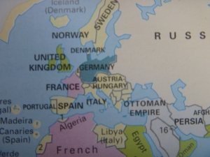 19世紀終わりのヨーロッパ