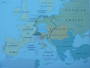 EUROPE AFTER THE CONGRESS OF VIENNA(1815)