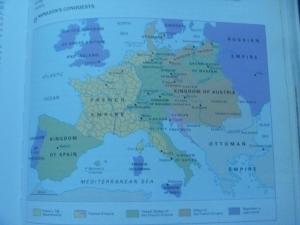 1812年頃のヨーロッパ