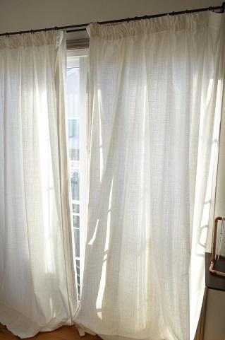 IKEAカーテン