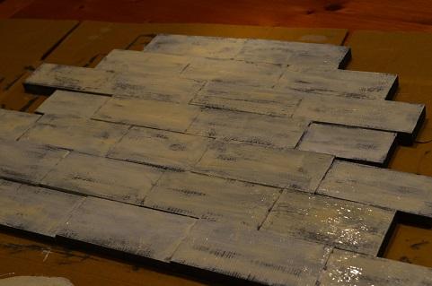 かまぼこ板DIY