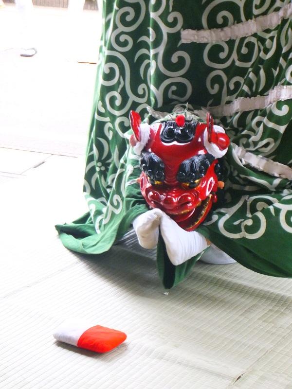 七夕祭り 獅子舞 小国町 玉遊び3