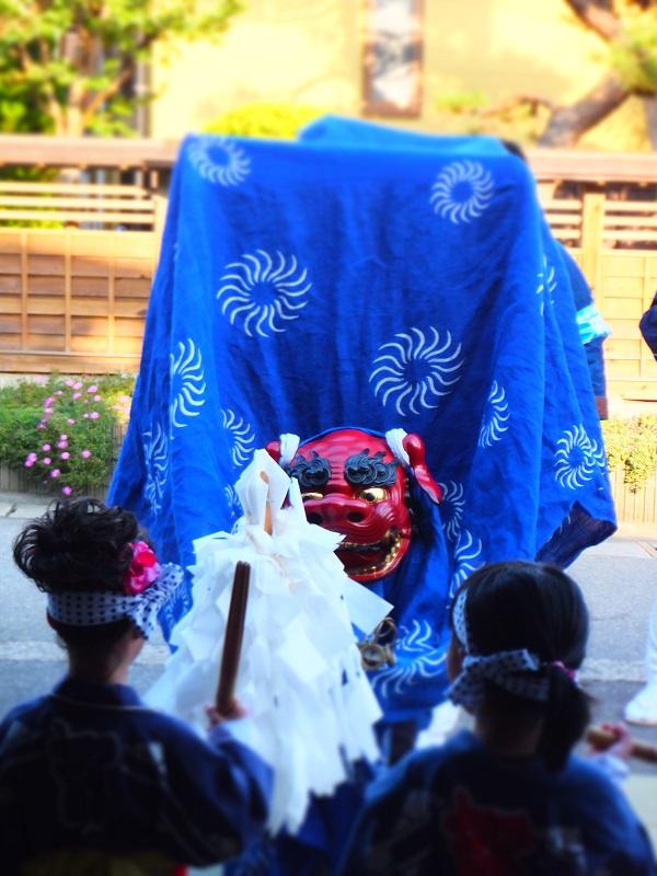 七夕祭り 小町 獅子舞