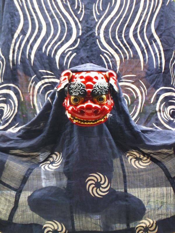 七夕祭り 獅子舞 迫力