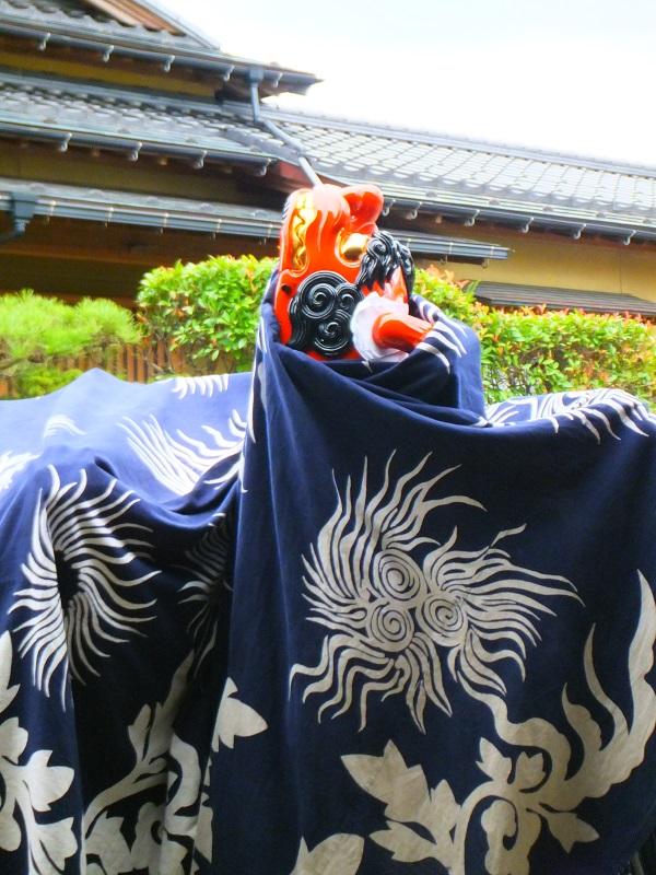 七夕祭り 鍛治町 獅子舞 昇り