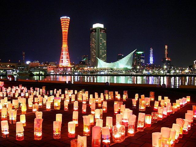 神戸の風景・100万人のキャンドルナイト_640x480