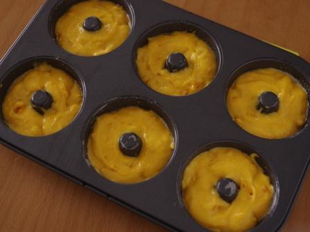 ホットケーキミックスで作るかぼちゃの焼きドーナツ01