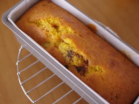 ホットケーキミックスでかぼちゃたっぷり簡単パウンドケーキ05