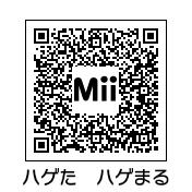 ハゲ田ハゲ丸(QRコード)