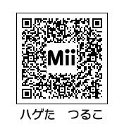 ハゲ田つる子(QRコード)