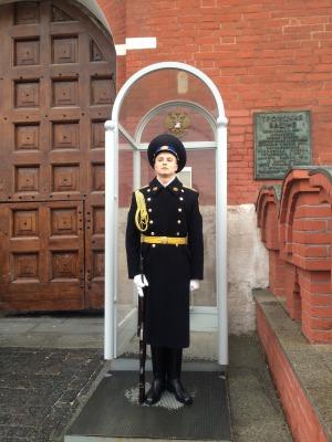 露_クレムリン入り口の衛兵さん
