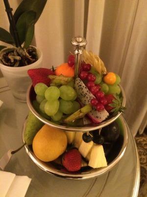 露_ホテルのフルーツ盛
