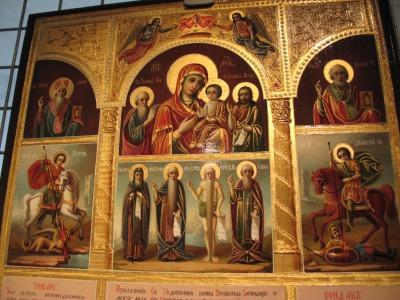 露_ノヴォデヴィチ修道院のイコン