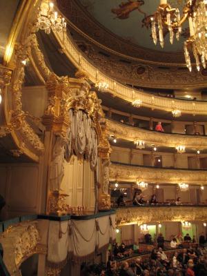 露_マリインスキー劇場のロイヤルバルコニー