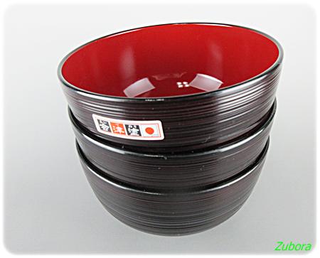 ダイソー会津塗りの汁椀