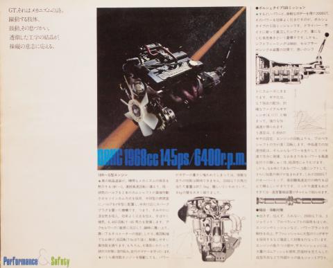 1973年8月 コロナGT メカニズム