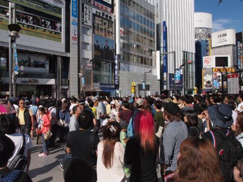 2015年5月31日 新宿