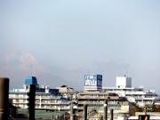 三鷹跨線橋から富士山20150227