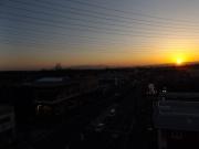 20150327夕陽と富士山2