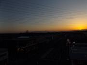 20150327夕陽と富士山3