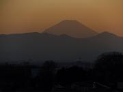 20150327夕焼けの富士山