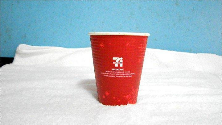 クリスマスカップ(赤)正面