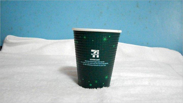 クリスマスカップ(緑)正面