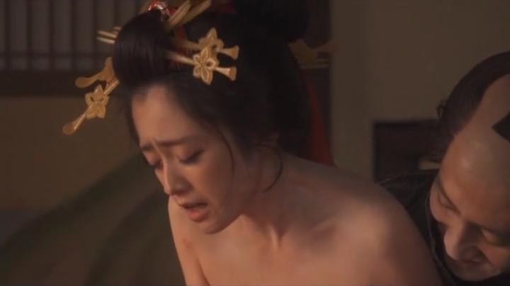 魅せた【花宵道中】安達祐実ヌードと濡れ場!1回目、絡み8
