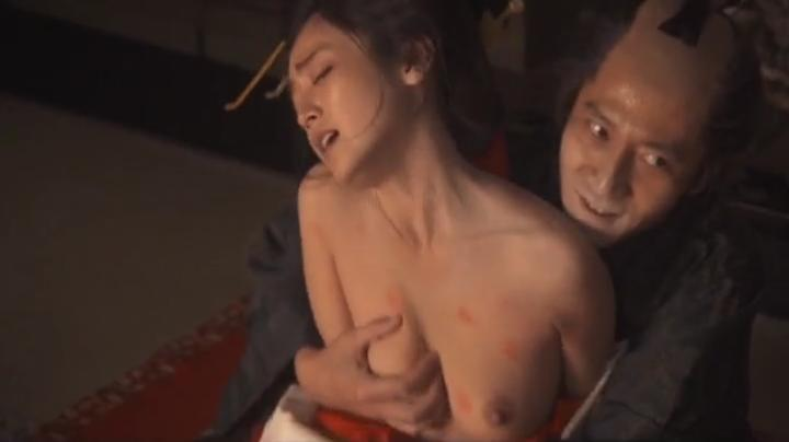 魅せた【花宵道中】安達祐実ヌードと濡れ場!1回目、絡み14