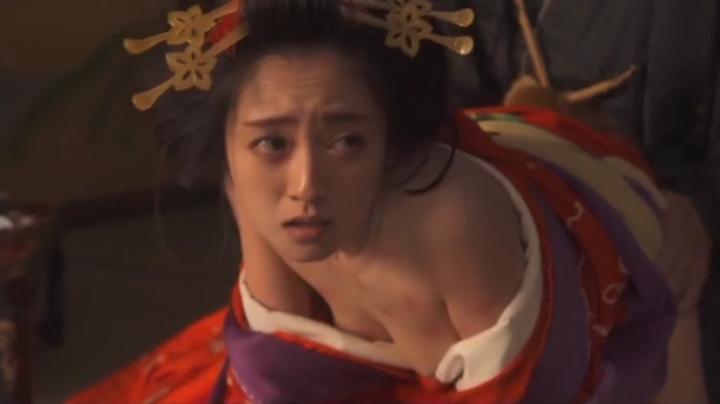 魅せた【花宵道中】安達祐実ヌードと濡れ場!1回目、絡み19