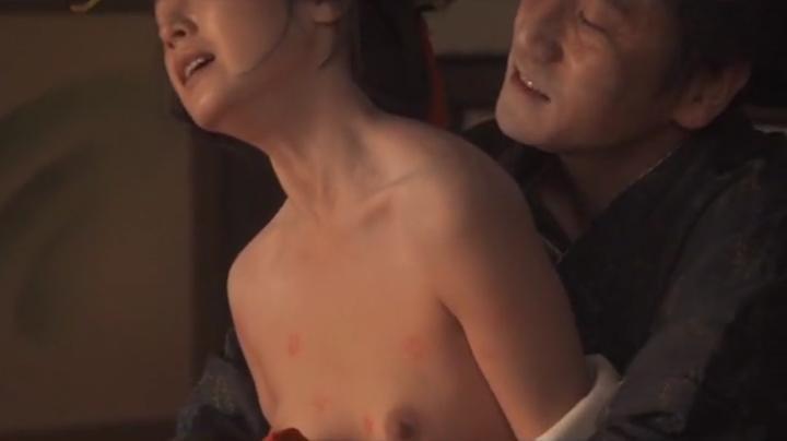 魅せた【花宵道中】安達祐実ヌードと濡れ場!1回目、絡み16