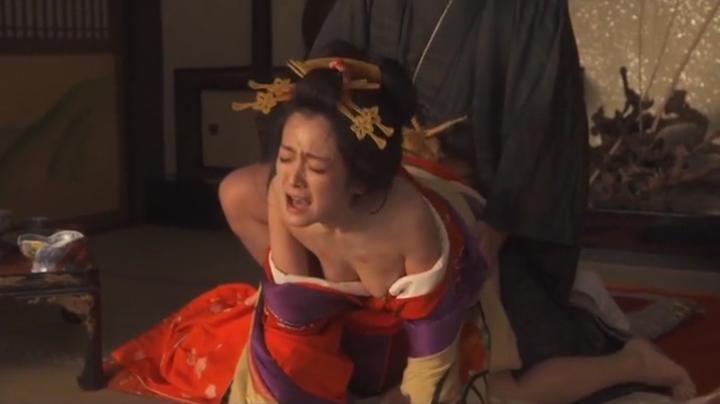 魅せた【花宵道中】安達祐実ヌードと濡れ場!1回目、絡み18