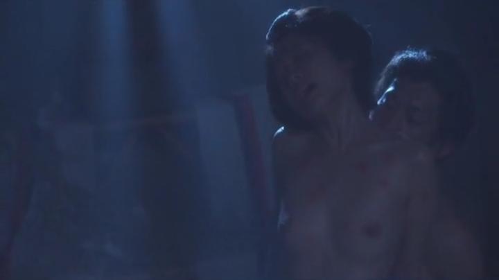 魅せた【花宵道中】安達祐実ヌードと濡れ場!2回目、バックで両方の乳首