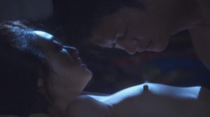 魅せた【花宵道中】安達祐実ヌードと濡れ場!2回目、正常位で両方の乳首