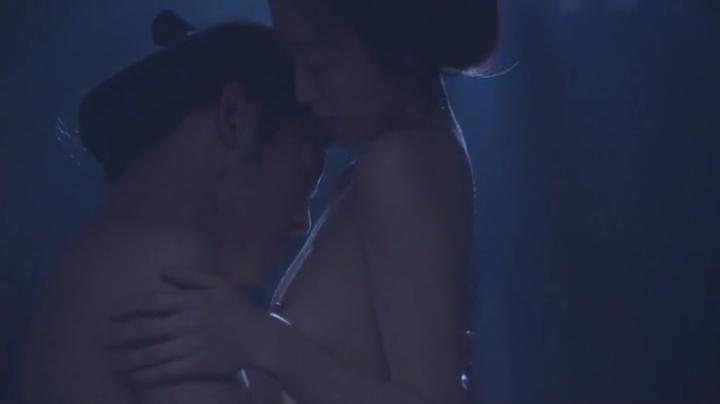 魅せた【花宵道中】安達祐実ヌードと濡れ場!2回目、絡み4(暗)