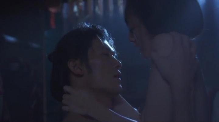 魅せた【花宵道中】安達祐実ヌードと濡れ場!2回目、絡み7(暗)