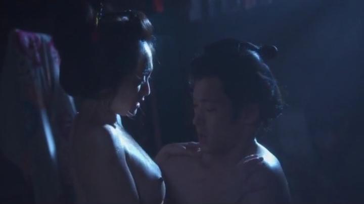 魅せた【花宵道中】安達祐実ヌードと濡れ場!2回目、絡み12(暗)