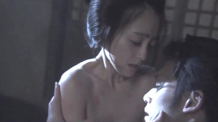 魅せた【花宵道中】安達祐実ヌードと濡れ場!2回目、絡み7(明)