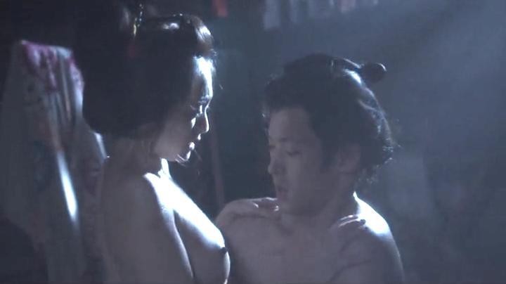 魅せた【花宵道中】安達祐実ヌードと濡れ場!2回目、絡み16(明)