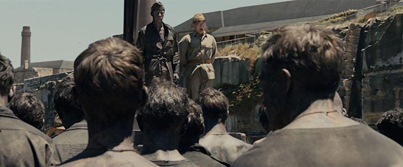 終戦時、直江津捕虜収容所所長による捕虜たちへの水浴の許可