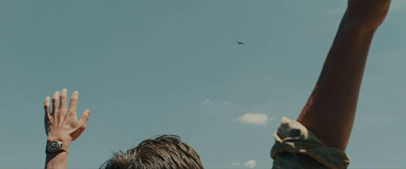 爆撃機が見えた