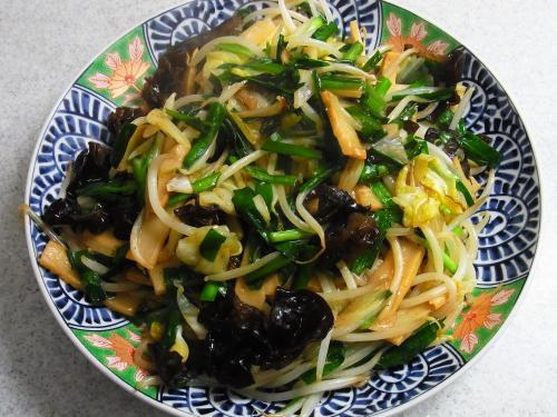 150418-221野菜とメンマの炒め(S)
