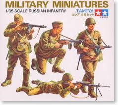 ロシア歩兵セット