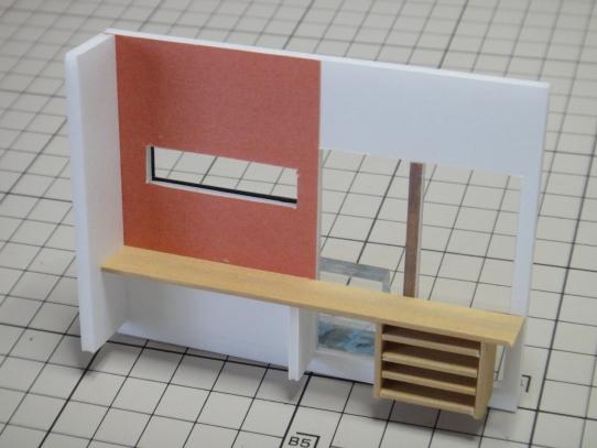 玄関カウンター