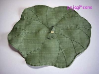 蓮の葉 サンポ モシ 覆い