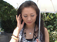 熟れすぎてごめん:【無修正】【中出し】暑い夏の日の野外露出 赤坂エレナ